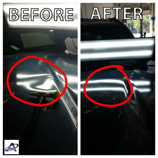 "When it comes to car or truck dents we take ""OH NO!"" to ""Good to GO!"""