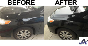 Toyota Corolla Dent Removed