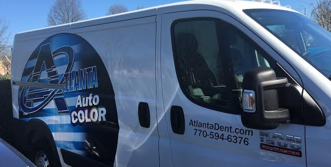 atlanta auto color expands atlanta dent company. Black Bedroom Furniture Sets. Home Design Ideas