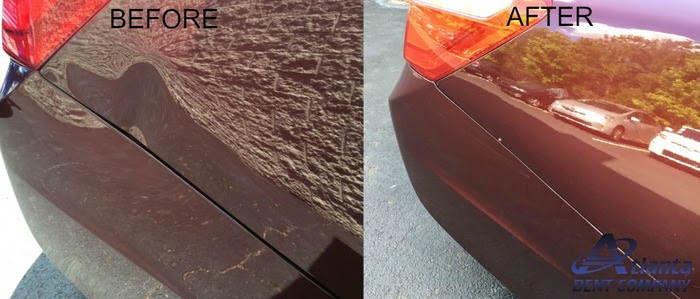Dent Removed with PDR