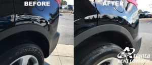 Atlanta Dent Company Repairs Car Dents