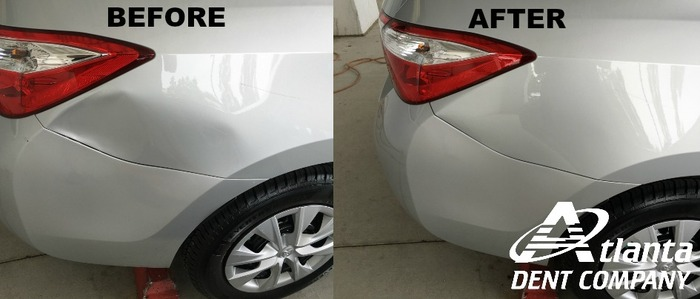 Toyota Corolla Dent Repaired