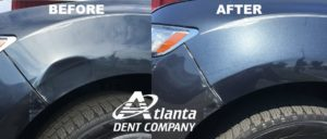 Fender Dent Disappears