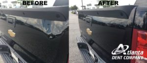 Dent Removal Before and After