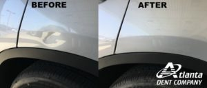 Dimples on Your Car!