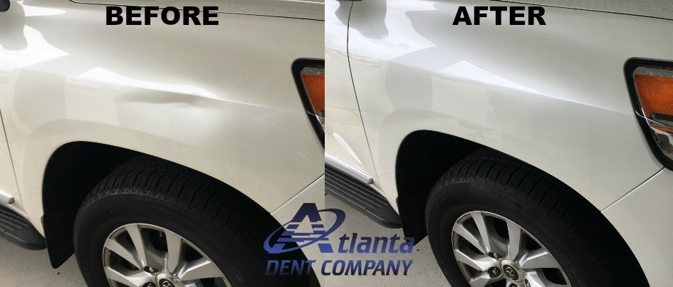 Toyota Land Cruiser Dent Repair
